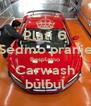Plati 6 Sedmo pranje Besplatno Carwash bulbul - Personalised Poster A4 size