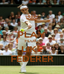 PLAY FLUID LIKE FEDERER - Personalised Poster A4 size