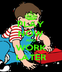 PLAY NOW AND WORK LATER - Personalised Poster A4 size