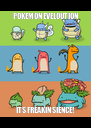 POKEMON EVELOUTION ITS FREAKIN SIENCE! - Personalised Poster A4 size