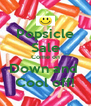 Popsicle Sale Come on Down and  Cool off! - Personalised Poster A4 size