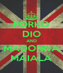 PORKO DIO AND MADONNA MAIALA - Personalised Poster A4 size