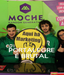 PORTALEGRE É BRUTAL - Personalised Poster A4 size