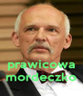 prawicowa mordeczko - Personalised Poster A4 size