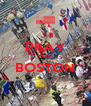 PRAY FOR BOSTON  - Personalised Poster A4 size