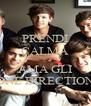 PRENDI CALMA E AMA GLI ONE DIRECTION - Personalised Poster A4 size