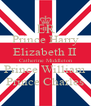 Prince Harry Elizabeth II Catherine Middleton Prince William Prince Charles - Personalised Poster A4 size