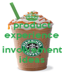 product experience and involvement ideas - Personalised Poster A4 size