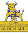 Proud JCSU Alumni   - Personalised Poster A4 size