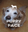 PUPPY FACE - Personalised Poster A4 size