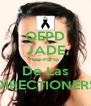 QEPD JADE De Parte De Las DIRECTIONERS - Personalised Poster A4 size