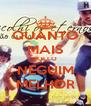 QUANTO MAIS POLLO NEGUIM MELHOR - Personalised Poster A4 size