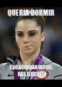 QUERIA DORMIR E SÓ ACORDAR DEPOIS DAS ELEIÇÕES - Personalised Poster A4 size