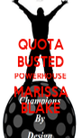 QUOTA BUSTED POWERHOUSE MARISSA BLAKE - Personalised Poster A4 size