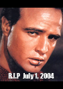 R.I.P  July 1, 2004 - Personalised Poster A4 size