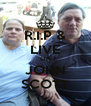 R.I.P & LIVE ON JOHN SCOTT - Personalised Poster A4 size