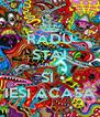 RADU STAI CALM SI  IESI ACASA - Personalised Poster A4 size