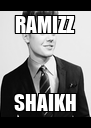 RAMIZZ SHAIKH - Personalised Poster A4 size