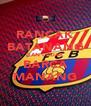 RANCAK BATANANG DAN CALIAK BARCA MANANG - Personalised Poster A4 size