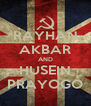 RAYHAN AKBAR AND HUSEIN PRAYOGO - Personalised Poster A4 size