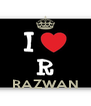 RAZWAN - Personalised Poster A4 size