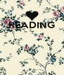 READING     - Personalised Poster A4 size