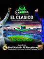 REAL MADRID 3-1 BARCELONA EL-CLASICO - Personalised Poster A4 size