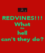 REDVINES!!! What the hell can't they do? - Personalised Poster A4 size