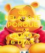RELAJATE PORQUE FALTAN SOLO 6 DIAS - Personalised Poster A4 size