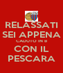 RELASSATI SEI APPENA CADUTO IN B CON IL PESCARA - Personalised Poster A4 size