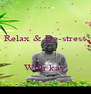 Relax & De-stress    With kay - Personalised Poster A4 size