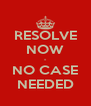 RESOLVE NOW - NO CASE NEEDED - Personalised Poster A4 size