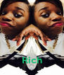 Rich - Personalised Poster A4 size