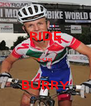 RIDE  FOR  BURRY - Personalised Poster A4 size