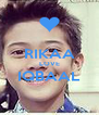 RIKAA LOVE IQBAAL  - Personalised Poster A4 size