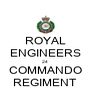 ROYAL ENGINEERS 24 COMMANDO REGIMENT - Personalised Poster A4 size
