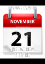 RSVP BY NOV. 21 FOR THE CAC NOV. MEETING - Personalised Poster A4 size