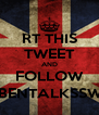 RT THIS TWEET AND FOLLOW @RUBENTALKSSWAGG - Personalised Poster A4 size