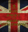 RUN  AWAY  FROM  HAIRY  MEN EWWW  - Personalised Poster A4 size