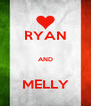 RYAN  AND  MELLY - Personalised Poster A4 size