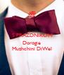 S PRAZDNIKOM   Dorogie Muzhchini DiWel - Personalised Poster A4 size