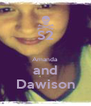 S2  Amanda and Dawison - Personalised Poster A4 size
