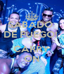 SABADO  DE FUEGO!  L CARRY ON - Personalised Poster A4 size