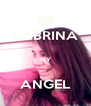 SABRINA  MY  ANGEL - Personalised Poster A4 size