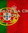 SAFA-TE DA CRISE VOTA A   - Personalised Poster A4 size