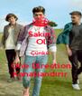 Sakin  Ol Çünkü  One Direction Kanatlandırır - Personalised Poster A4 size