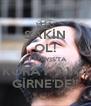 SAKİN OL! 30 MAYIS'TA KORAY AVCI GİRNE'DE!! - Personalised Poster A4 size
