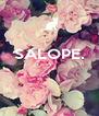 SALOPE.    - Personalised Poster A4 size