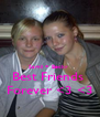 Samii + Becky  Best Friends  Forever <3 <3 - Personalised Poster A4 size