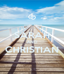 SARAH AND CHRISTIAN  - Personalised Poster A4 size